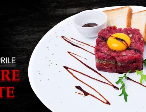 6 APR 2018 | TARTARE D'ÈLITE: degustazione di tartare